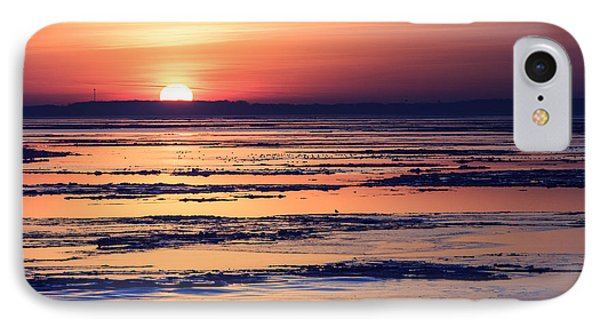 IPhone Case featuring the photograph Icy Sunrise by Jennifer Casey