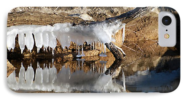 IPhone Case featuring the photograph Icy Teeth by Linda Cox