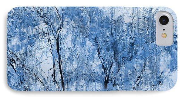 Icy Winter Phone Case by Kume Bryant