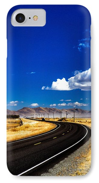 Idaho Road Titl Shift IPhone Case by For Ninety One Days