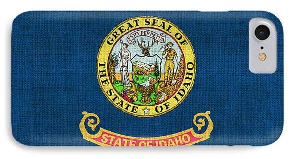 Idaho State Flag Phone Case by Pixel Chimp