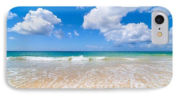 Idyllic Summer Beach Algarve Portugal IPhone Case by Amanda Elwell