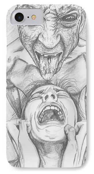 If Agony Had A Face IPhone Case