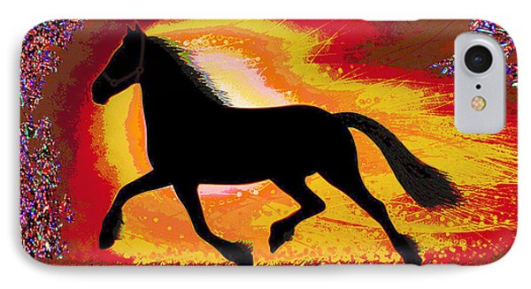 If Mind Is A Horse You Need Your Heart And Soul To Control It For The Right Pace And Direction  Succ IPhone Case by Navin Joshi