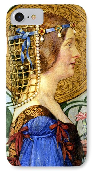 If One Could Have That Little Head Of Hers Phone Case by Eleanor Fortescue Brickdale