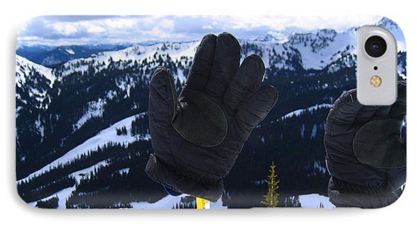 If The Glove Fits Phone Case by Kym Backland