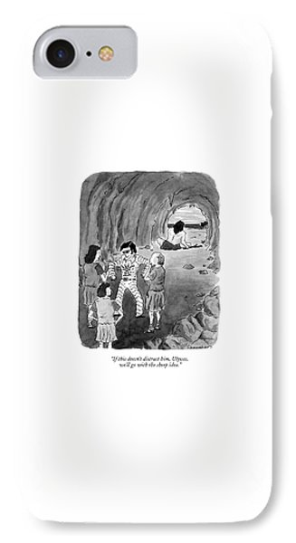 If This Doesn't Distract IPhone Case by Danny Shanahan
