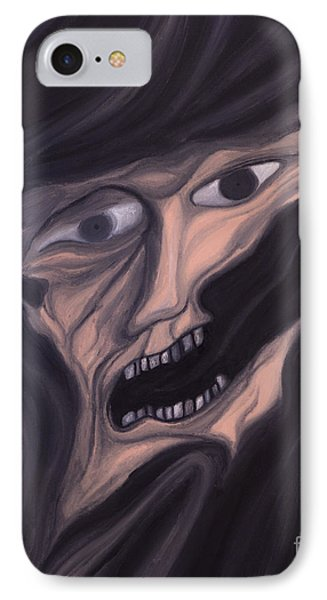 If You Forget Me The Darkness Will Take Me Phone Case by R G Nascimento