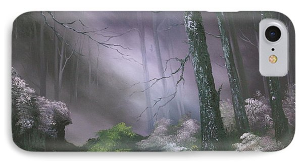 If You Go Down In The Woods Today ? IPhone Case by Jean Walker