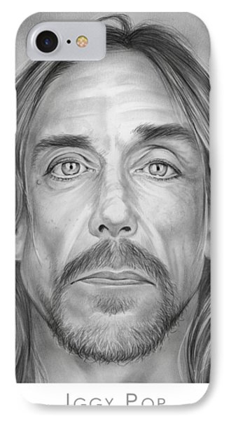 Iggy Pop IPhone Case by Greg Joens