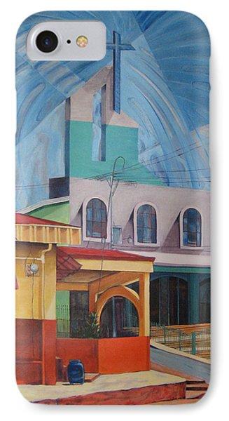 Iglesia San Rafael  Costa Rica IPhone Case