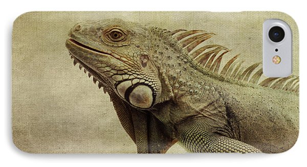 Iguana IPhone Case by Marina Kojukhova