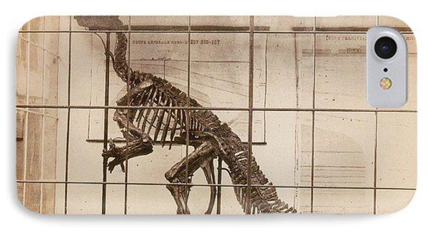 Iguanodon Skeleton Mesozoic Dinosaur Phone Case by Science Source