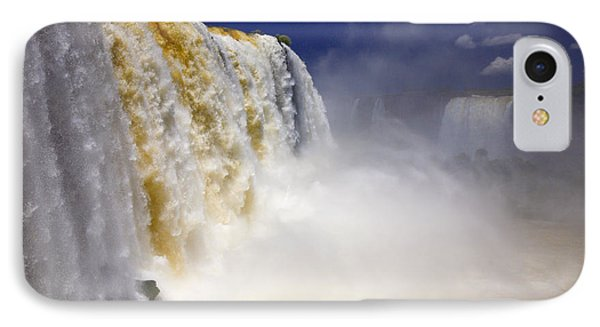 Iguazu Falls I IPhone Case by Bernardo Galmarini