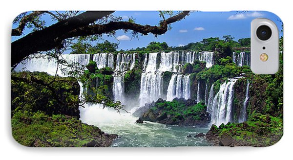 Iguazu Falls In Argentina IPhone Case by Joan  Minchak