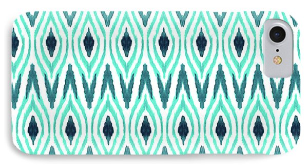 Ikat Jade IPhone Case by Amy Sia