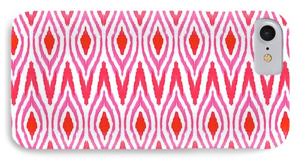 Ikat Watermelon IPhone Case by Amy Sia