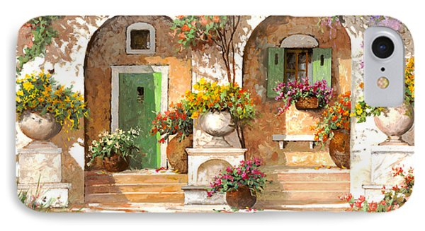Il Cortile Phone Case by Guido Borelli