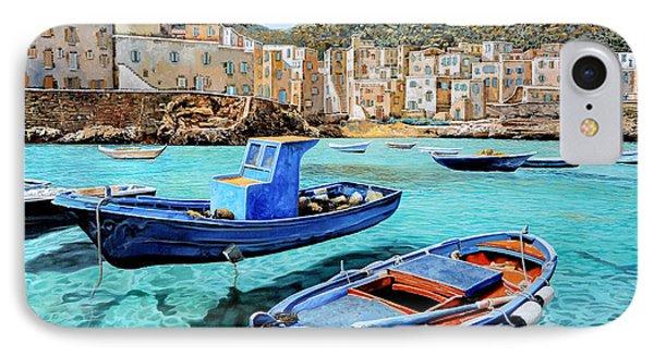 Il Mare Smeraldo IPhone Case by Guido Borelli