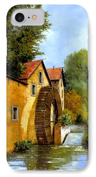 Il Mulino Ad Acqua IPhone Case by Guido Borelli