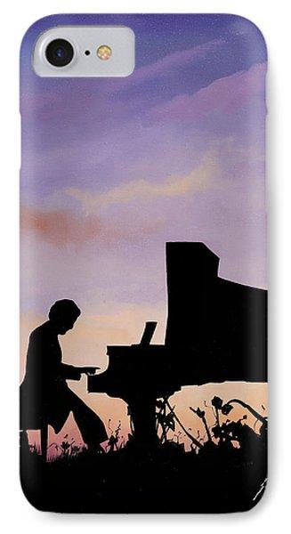 Il Pianista IPhone Case by Guido Borelli