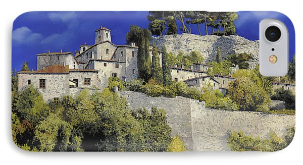 Il Villaggio In Blu IPhone Case by Guido Borelli