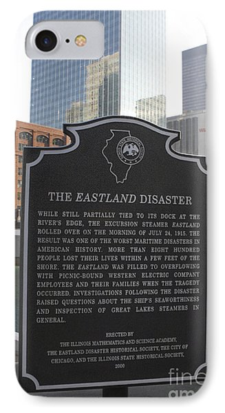 Il001 - The Eastland Disaster IPhone Case by Jason O Watson