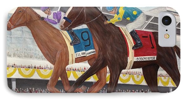 I'll Have Another Wins Preakness IPhone Case by Glenn Stallings