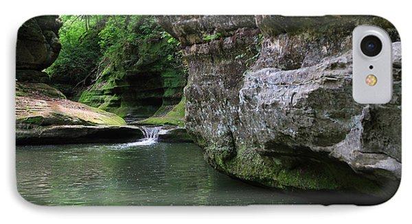 Illinois Canyon May 2014 IPhone Case by Paula Guttilla