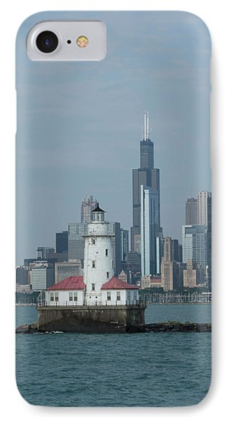 Illinois, Chicago, Lake Michigan IPhone Case by Cindy Miller Hopkins