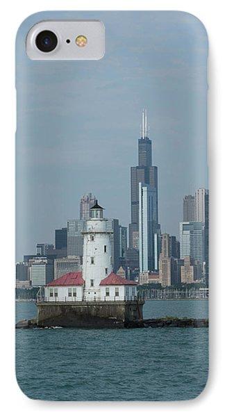 Illinois, Chicago, Lake Michigan IPhone Case