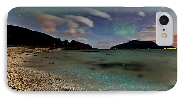 Illuminated Beach IPhone Case