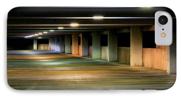 Illuminated Parking IPhone Case by Christopher McKenzie