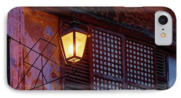 Illuminated Vintage Street Lamp IPhone Case