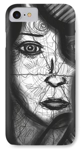 Illumination Of Self IPhone Case by Daina White