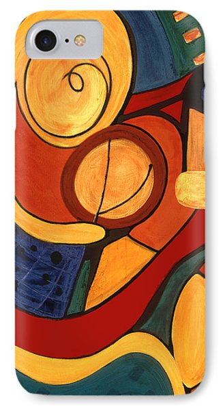 IPhone Case featuring the painting Illuminatus 3 by Stephen Lucas