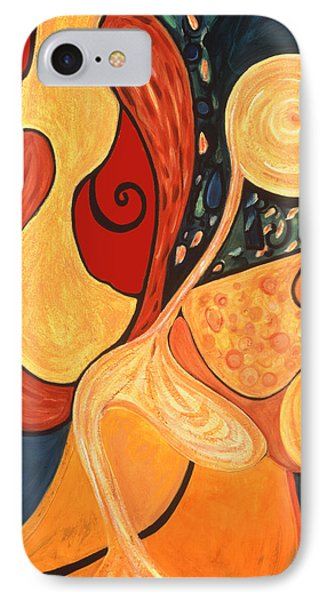 IPhone Case featuring the painting Illuminatus 4 by Stephen Lucas