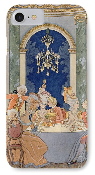 Illustration From 'les Liaisons Dangereuses'  Phone Case by Georges Barbier