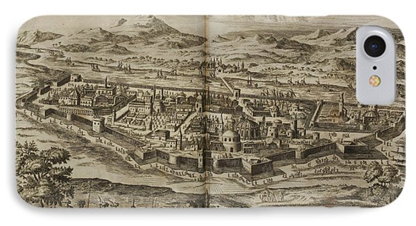 Illustration Of Baghdad In The 17th Centu IPhone Case by British Library