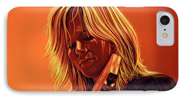 Ilse Delange Painting IPhone Case by Paul Meijering