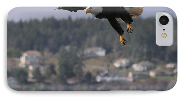 IPhone Case featuring the photograph I'm Coming In For A Landing by Kym Backland