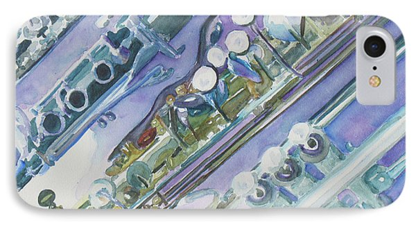 I'm Still Painting On The Keys IPhone 7 Case by Jenny Armitage