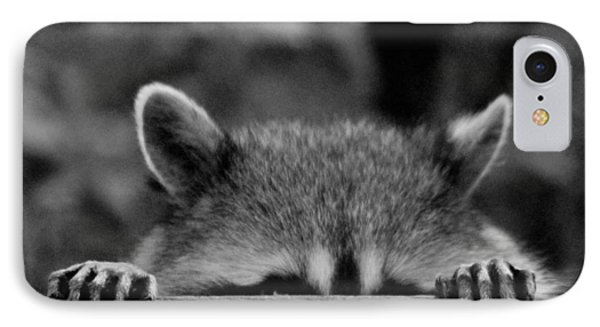 I'm Sure She Can't See Me IPhone Case by Kym Backland