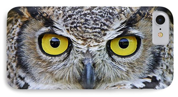 I'm Watching You IPhone Case by Heather King