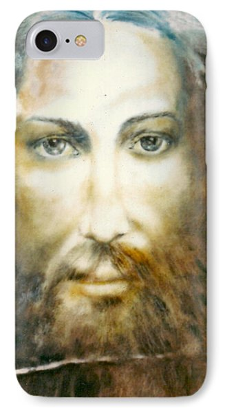 Image Of Christ IPhone Case by Henryk Gorecki