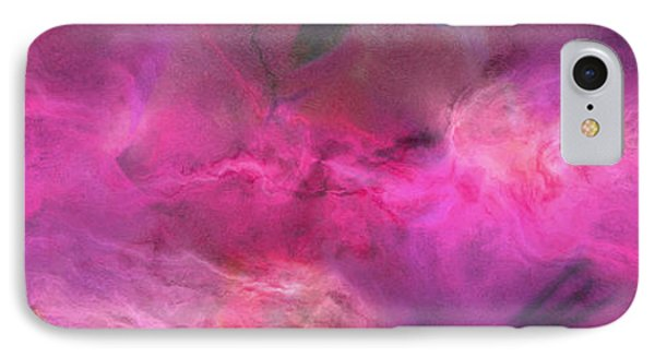 Imagination In Ruby Fire - Abstract Art Phone Case by Jaison Cianelli