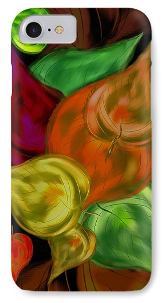 Imagine Leaves IPhone Case by Christine Fournier