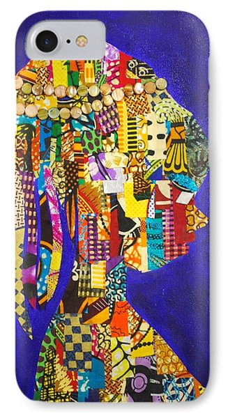IPhone Case featuring the tapestry - textile Imani by Apanaki Temitayo M