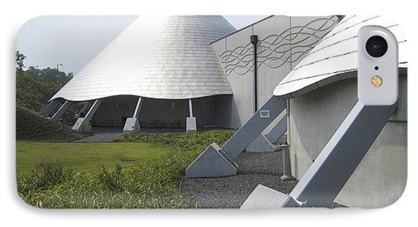Imiloa Astronomy Center - Hilo Hawaii Phone Case by Daniel Hagerman
