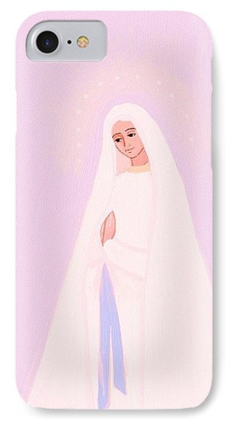 Immaculate Conception Phone Case by Alice Butera